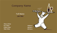 Pizzeria Business Card Template